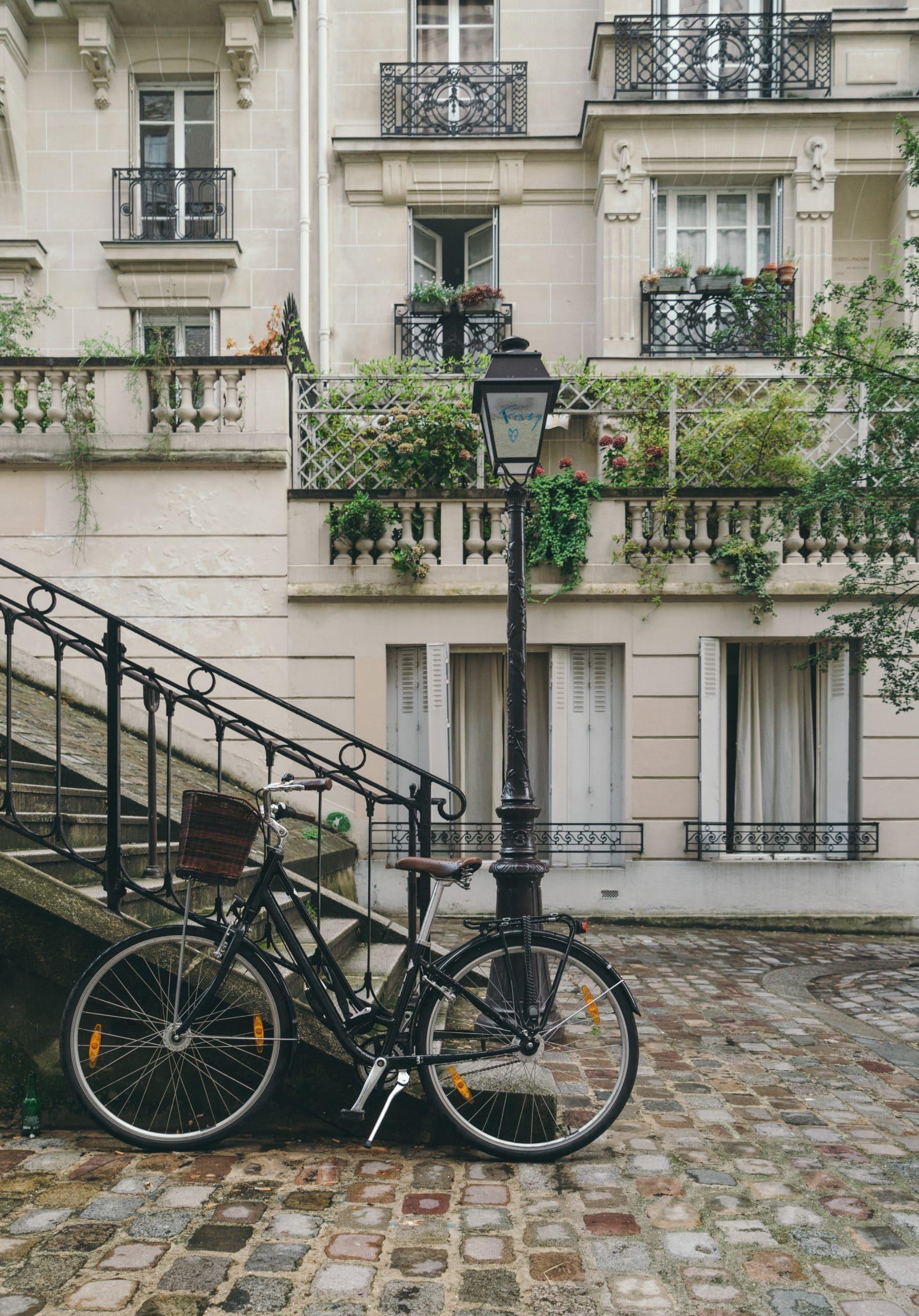 Rue de paris et vélo
